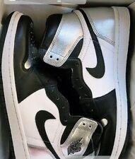 Women's Air Jordan 1 silver toe US Size 9 in Women's/ 7.5 in Mens 0194501079532