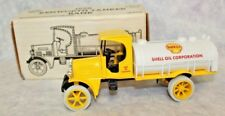 1925 Kenworth Tanker Die-Cast Metal Locking Bank with Key SHELL OIL LOGO