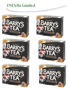 Barrys Tea Classic Blend 80s Teabags (pack of 6) SOLD BY DSDELTA IRE