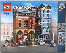 Lego Bauanleitung für Detective's Office 10246 Neu