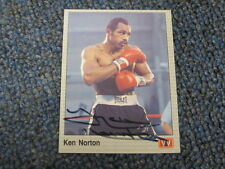 Ken Norton Autographed Boxing Trading Card