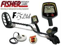 Fisher F75 Special Edition Metal Detector w/ 2 Coils -NEWEST! FAST DST & FA MODE