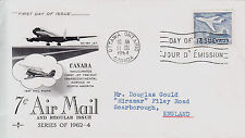 Canada Air Mail Aviation Postal Stamps