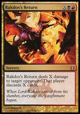 RAKDOS'S RETURN NM mtg Return to Ravnica Gold - Sorcery Mythic