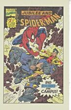 SPIDER-MAN & WOLVERINE1994 DRAKE'S CAKES 2 MINI COMIC BOOKS MARVEL COMICS