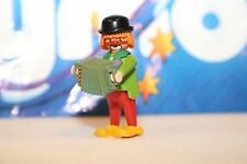 Playmobil #3319  Circus Clown with Accordion Collectors Item