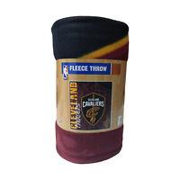 "Cleveland Cavaliers Licensed Fleece Throw Blanket 50""x 60"" Basketball League"