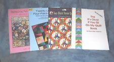 Two Block Theme Quilts & Twenty Little Four Patch Quilts & Quilt Color & Design