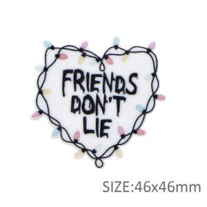 5 qty Planar ResinHair Bow Center 1108842 Friends Don't Lie Stranger Things