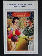 "FITZPATRICK Bamforth & Co Carnival Dress ""MIND IF I HAVE THE NEXT DANCE"" No.1390"