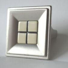 Möbelknöpfe Schrankknopf Knopf Küchen Griff 45 x 45 mm Modern Design Möbelknopf