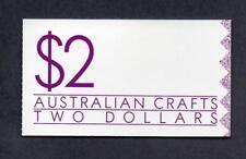Australia 1988 SB63 australiano artesanías Folleto de $2