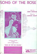"ROSE OF THE RIO GRANDE ""Song Of The Rose"" Movita John Carroll"