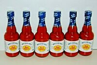 (6) Sweet Baby Rays Gourmet HOT SAUCE Great on Wings Burgers Tacos Chili Seafood