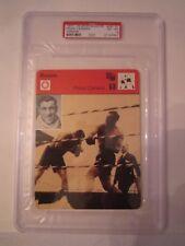 1977-79 PRIMO CARNERA BOXING CARD #26-21 PSA GRADED 6 (GERMAN) SPORTSCASTER