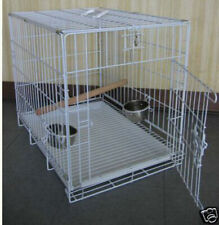 Large Travel Foldable Parrot Bird Carrier Cage For Parrot Cockatiel Green Cheek