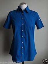 Tommy Hilfiger Damen Kurzarm Bluse Farbe: blau  Gr. 36