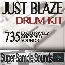 JUST BLAZE Drum Kit vinyl beats mpc60 SP1200 MV8800 MPC 2500 5000 1000 samples