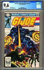 G.I. JOE A REAL AMERICAN HERO #3 - CGC 9.6 -  WP - NM+