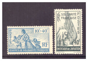 France 1943 Committee of National Liberation Solidarity & Aviation Funds MM/MH