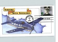 NAVY VETERANS Honored, William S. Sims, pic Airplane # 41, First Day of Issue 20
