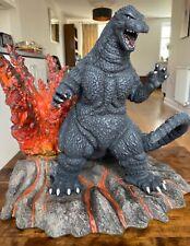 More details for cinemaquette toynami godzilla 1989 polystone statue rare 30cm scale - (x-plus)