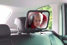 Baby Auto Spiegel groß verstellbar bruchsicher Spiegel Rückansicht Baby Spiegel