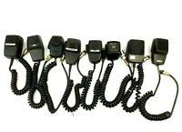 Lot of 8 CB Ham Radio Mic Microphones Midland Cobra Courier Astro Line Parts VTG