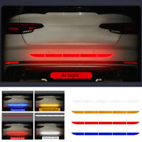 Car Auto Reflective Warn Strip Tape Bumper Truck Safety Sticker Decals Paster