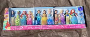 NEW Disney Princess Shimmering Dreams Doll Collection 11 Dolls Snow White Belle