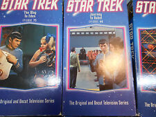 8 Assorted 1960s STAR TREK Episodes VHS Tapes Balance of Terror