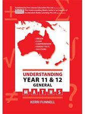 Understanding Year 11/12 General Maths HSC