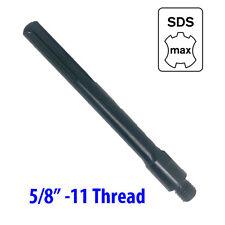 "Core Drill Bit Adapter 5/8""-11 Threaded Male to SDS Max  Hammer Drill Diamond"