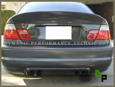 CSL Style Carbon Fiber Rear Replacement Diffuser For 2001-2006 BMW E46 M3 Only