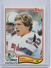 1982 Topps #155 - ANDY JOHNSON