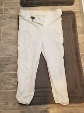 LOOK! BIKE REFEREE FOOTBALL PANTS SLACKS WHITE SIZE L