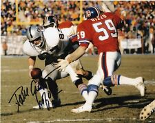 DAVE CASPER  OAKLAND RAIDERS  HOF 02   ACTION SIGNED 8x10