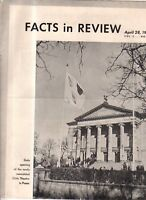 1941 Facts in Review - Nazi, German, Hitler Birthday Propaganda in the U.S. Art