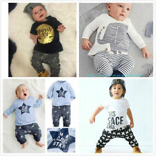 Cotton Blend Animal Print Clothing (0-24 Months) for Boys