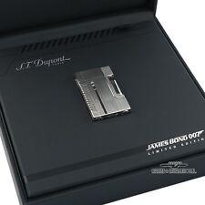 S.T. Dupont James Bond 007 Brushed Palladium Line 2 Lighter 1427/5007 VAULT KEPT