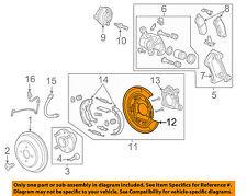 Chevrolet GM OEM 14-16 Spark EV-Brake Backing Plate Left 95280765
