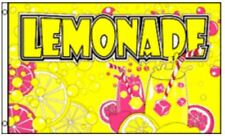 LEMONADE Flag Business Concession Stand Sign 3 x 5 Foot Banner Lemon Food Tent