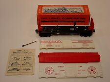 LIONEL POSTWAR 6448 EXPLODING TARGET CAR with Original BOX,INSTRUCTIONS SHEET
