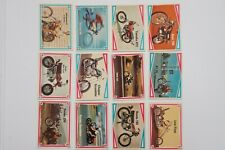 Choppers & Hot Bikes set of 66 cards 1972 Donruss excellent to near mint