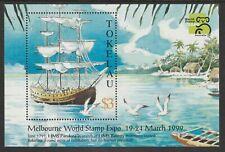 1999 TOKELAU SHIPS & AUSTRALIA '99 MINI SHEET FINE MINT MNH
