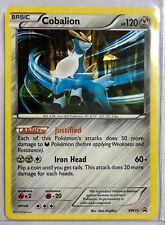 NEW Pokemon Cobalion BW72 Holo Rare Black Star Promo Legends of Justice NM-MT