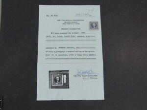 Nystamps US Stamp # 126 Mint OG $1650 PF Certificate