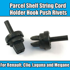 2x Clips For Renault Clio Laguna Megane Parcel Shelf String Cord Holder Hook