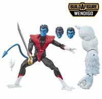 "Marvel Legends 6"" Nightcrawler New Sealed Wendigo BAF X-Men X-Force Kurt Wagner"