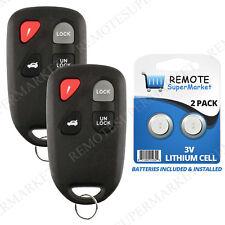 2 Replacement for Mazda 2001-2005 Miata 2001-2002 Millenia Remote Car Key Fob